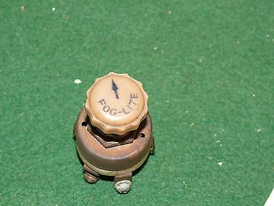 Vintage Original Fog Light Lite Lamp Switch