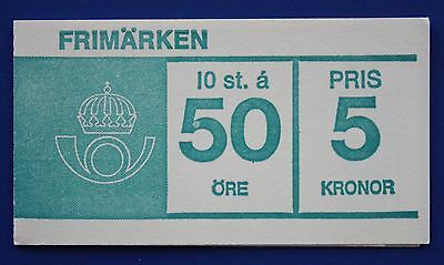 Sweden (672a) 1969 King Gustaf VI Adolf MNH booklet