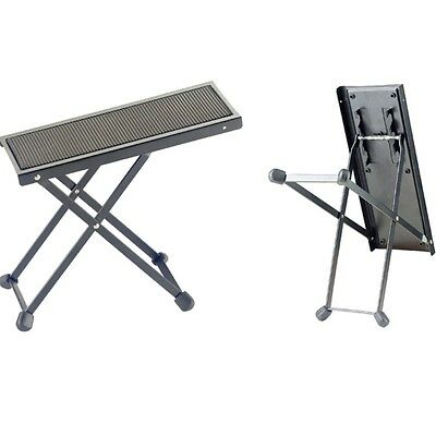 Stagg FOS-B1 BK Metal Foot Rest for Guitar Players +Picks
