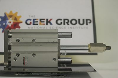 SMC MGPM32-100B-XC8 Compact Guide Cylinder Slide Brg. 32 mm Bore 100 mm Stroke