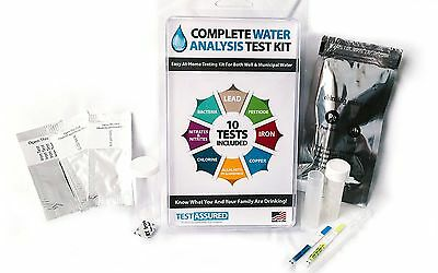 Complete Water Testing Kit - Test Your Drinking Water In Minutes At Home!