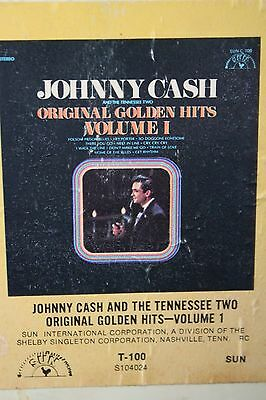 Johnny Cash And The Tennessee Two / Original Golden Hits Vol. I (8-Track Tape)