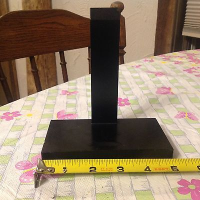 Antique Vintage ASIAN Wood Display Stand Hand Carved Chinese/Japanese - 5 Inch L