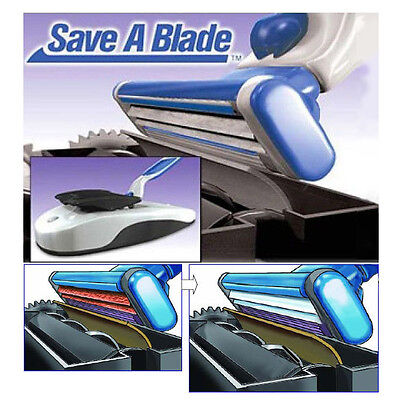 Automatic Electric Save a Blade Razor Sharpener Sharpen Hair Remover Tool Kit