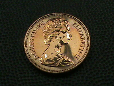 GREAT  BRITAIN   1  Penny   1978    PROOF