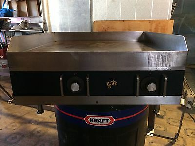 Star 524 24'' Electric Flat Top Griddle Grill - Thermostatic Commercial