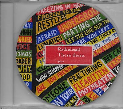 RADIOHEAD  There There  promo CD single with PicCover