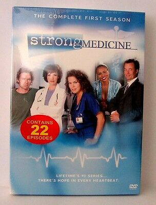 Strong Medicine - The Complete First Season (DVD, 2006, 5-Disc Set) New Sealed