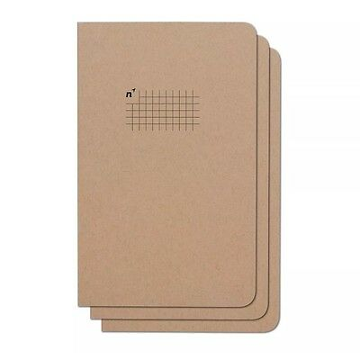 Northbooks Notebook / Journal (3 Pack) 96 Square Grid Pages Acid Free Sheets ...