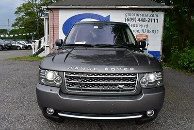 2011 Land Rover Range Rover Supercharged 2011 Land Rover Range Rover Supercharged 112,150 Miles Gray SPORT UTILITY 4-DR 4
