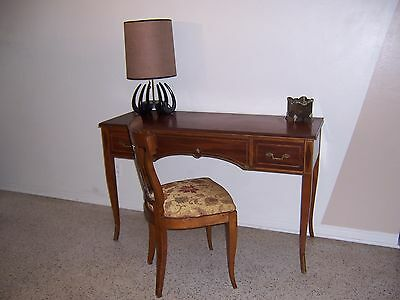 Rway French Provincial Writing Desk and Matching Chair