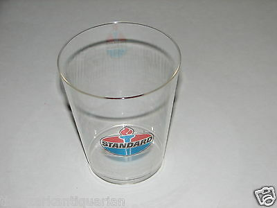 Standard Oil Gas vintage UNUSED plastic cup glass mug RARE!!! FREE SHIPPING