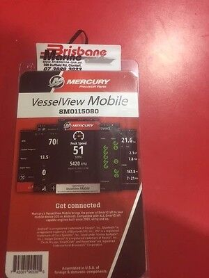 Mercury ,vesselveiw Mobile To Suit Mercury, Mercruiser  8M0115080 (Excess Stock)