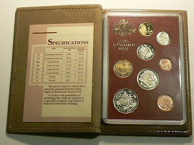 1988 Australia, 8 Coin Uncirculated Proof Year Set #G6339