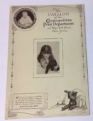 VTG Cosmopolitan Print Dept. Catalog with 22 Pages of Beautiful Prints