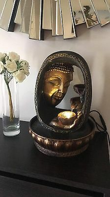 NEW Feng Shui Buddha Feature Indoor Water fountain Free Shipping Order Yours Now