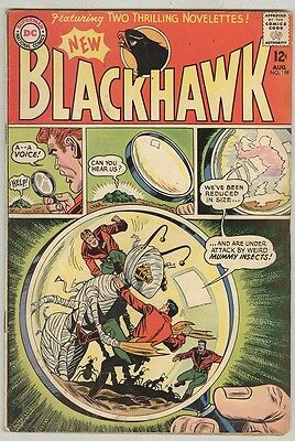 Blackhawk #199 August 1964 VG- Mummy Insects