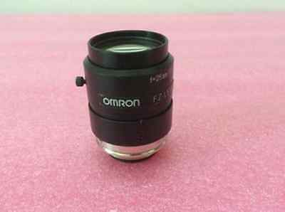 1PC used Omron FZ-LEH f = 25mm / F1.4 million industrial fixed-focus lens #RS01