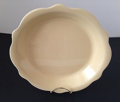Southern Living At Home Gail Pittman Yellow Pie Dish Plate
