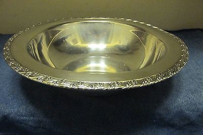 Antique~Forbes 2962~Quadruple Silver Plate~Church Collection~Bedside~Fruit~Bowl