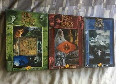 Harry Potter And Lord Of The Rings Puzzles