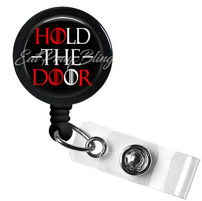 Retractable Badge Reel Name Tag ID Pull Clip Holder Lanyard Game of Thrones Gift
