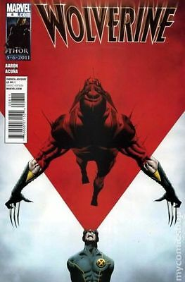 Wolverine (2011) #8 VF Marvel Comic (MR-6)