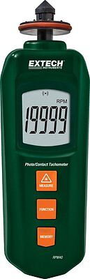Extech Instruments RPM40 Pocket Contact and Laser Photo Tachometer