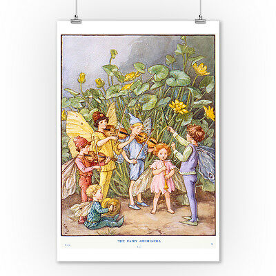 The Fairy Orchestra - CMB Vintage Ad (9x12 Art Print, Wall Decor Travel Poster)