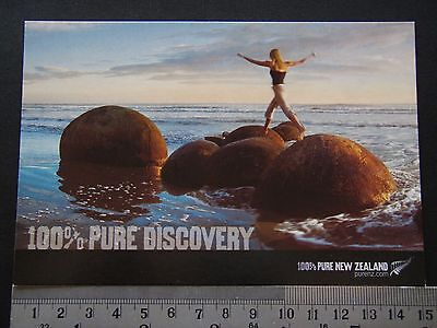 100% Pure Discovery Pure New Zealand Purenz Channel Avant Card #6529 Postcard