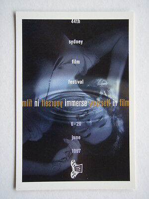 44th SYDNEY FILM FESTIVAL 6-20 JUNE 1997 AVANT CARD #1483 POSTCARD