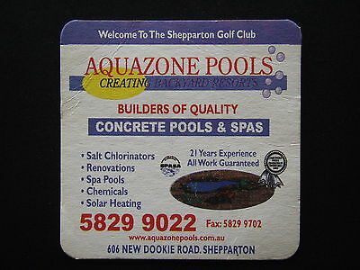 Aquazone Pools 606 New Dookie Rd Shepparton 58299022 Golf Club Coaster