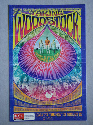 Avant Card #13684 2009 Taking Woodstock Ang Lee Postcard