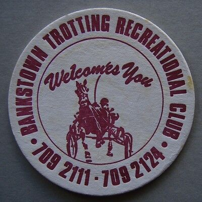 Bankstown Trotting Recreational Club 7092111 Coaster