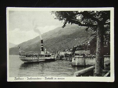 Bellano - Imbarcadero - Battelli In Arrivo - Postcard
