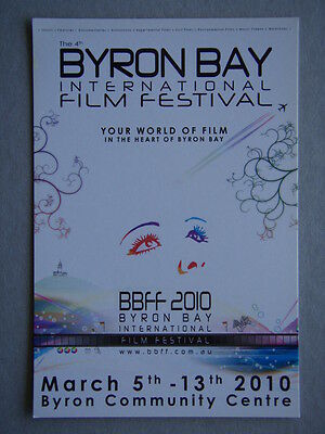 Byron Bay International Film Festival 2010 - Advert Postcard