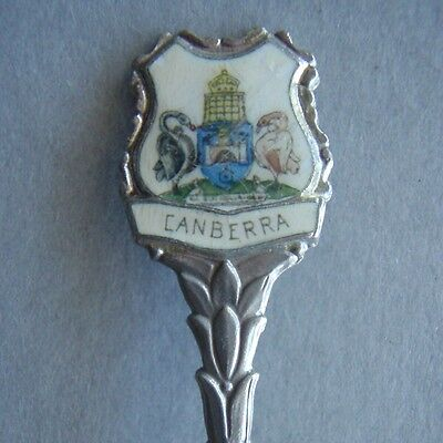 Canberra Coat Of Arms Old Parliament House Souvenir Spoon Teaspoon