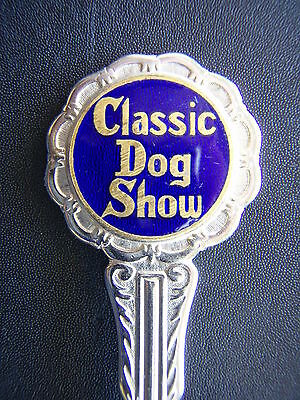 Classic Dog Show Peninsula Plate Teaspoon