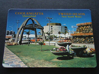 Coolangatta Qld Tweed Heads Nsw Gardens Twin Towns Services Club - Postcard