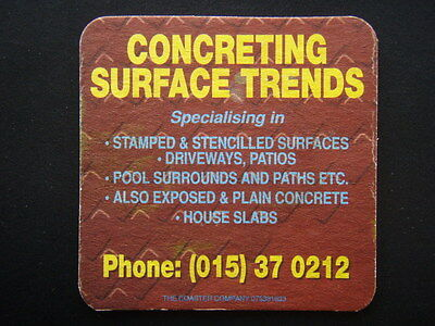 Concreting Surface Trends 015370212 Coaster
