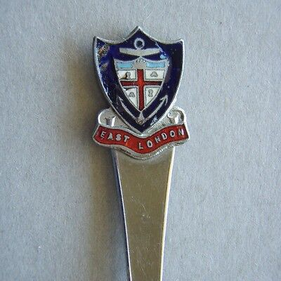 East London Coat Of Arms Souvenir Spoon Teaspoon