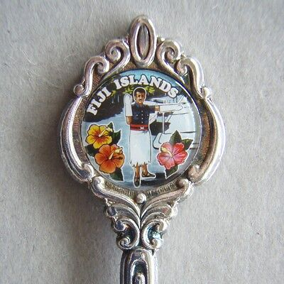 Fiji Islands Policeman EPA1 Souvenir Spoon Teaspoon (T82)