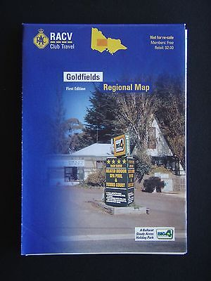 Goldfields Regional Map First Edition  Map