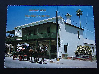 Greetings From Historic Hahndorf Inn 1980 Postcard