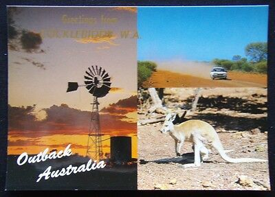 Greetings from Cocklebiddy WA Outback Australia c1970's Postcard (P239)