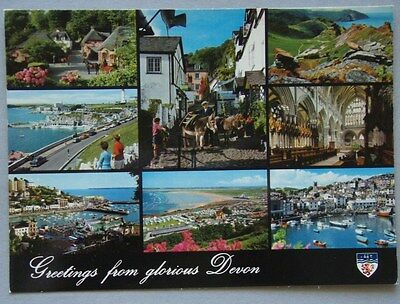 Greetings From Glorious Devon John Hinde Giant Postcard