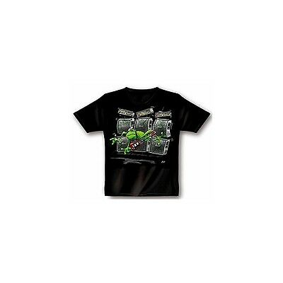 Rock You! T-Shirt Blow Away Frog XL - schwarz