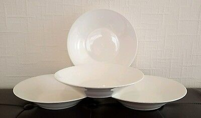 Set of twelve (12) x brand new white cereal/breakfast/soup bowls