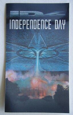 Independence Day 3D Card Movie Advert 1996 Card