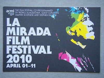 La Mirada Film Festival 2010 - Advert Postcard